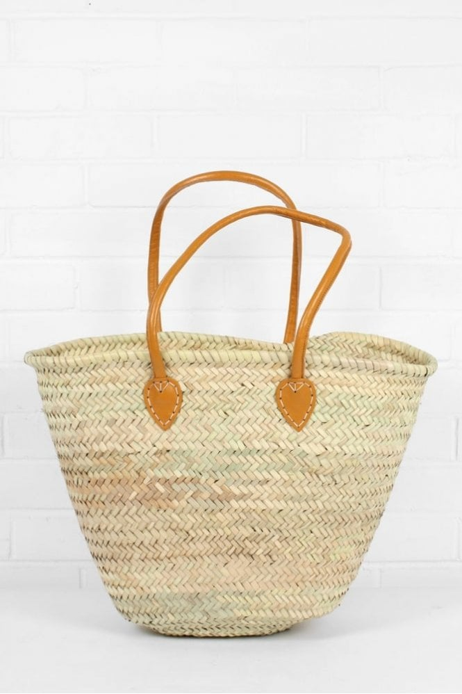 Bohemia Souk Shopper Basket in Mustard