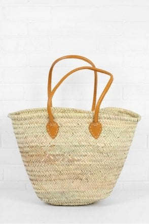 Souk Shopper Basket in Mustard