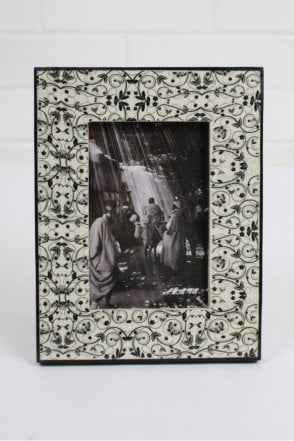 Tile Photo Frame in Black