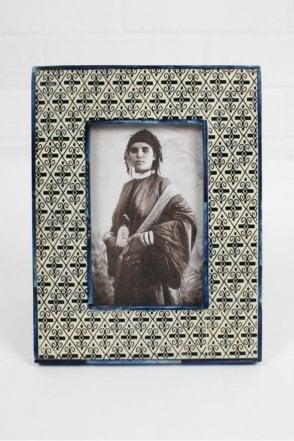 Tile Photo Frame in Blue