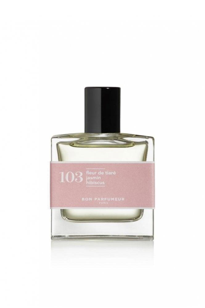 Bon Parfumeur 103 Tiare Flower, Jasmine, Hibiscus EDP 30ml