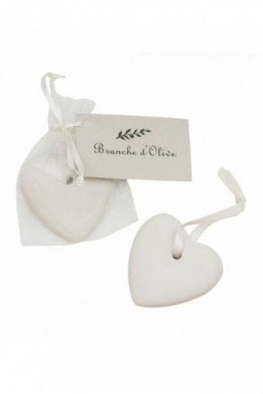 A Scented Ceramic Hear – Feather