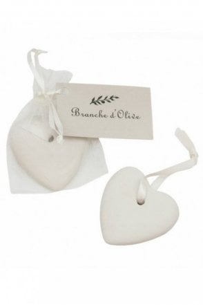 A Scented Ceramic Heart – Cloud