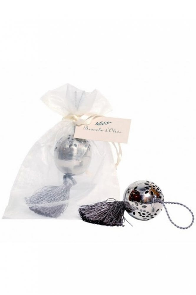 Branche D'Olive Tassled Small Ball Pomander – Cloud