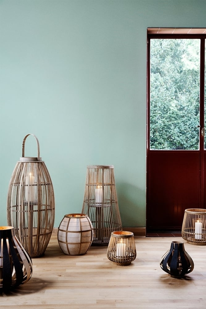 broste copenhagen aleta bamboo lantern at sue parkinson. Black Bedroom Furniture Sets. Home Design Ideas