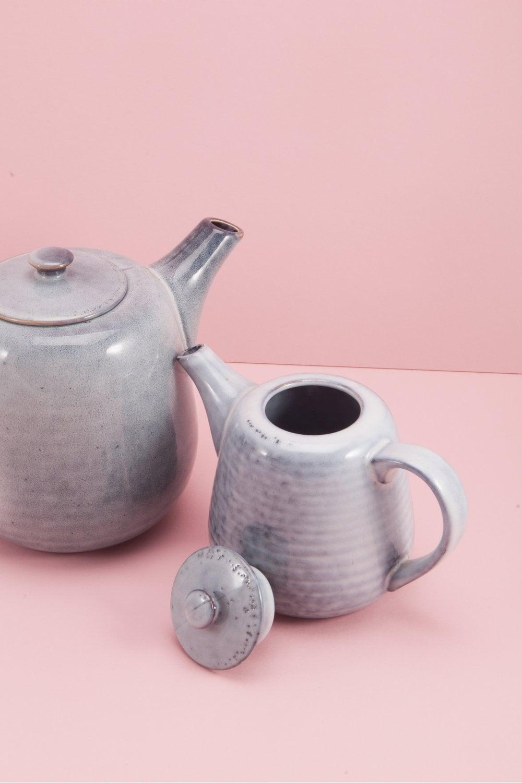 Broste Copenhagen Nordic Sea Ceramic Teapot for One