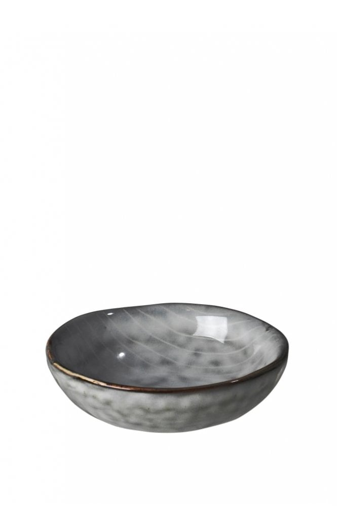 Broste Copenhagen Nordic Sea Hand-Painted Butter Bowl