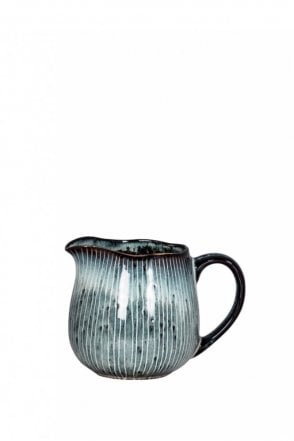 Nordic Sea Hand-Painted Milk Jug