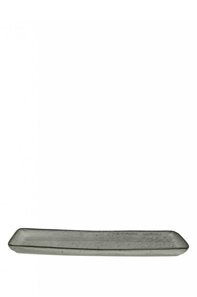 Broste Copenhagen Nordic Sea Hand-Painted Square Plate