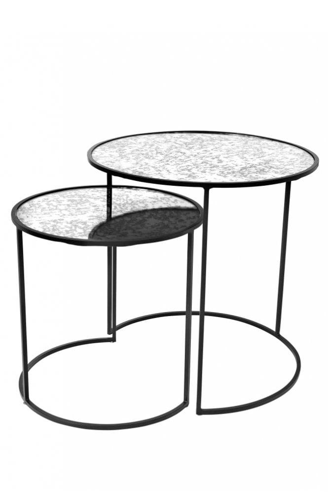 Broste Copenhagen Stends Set of 2 Round Tables