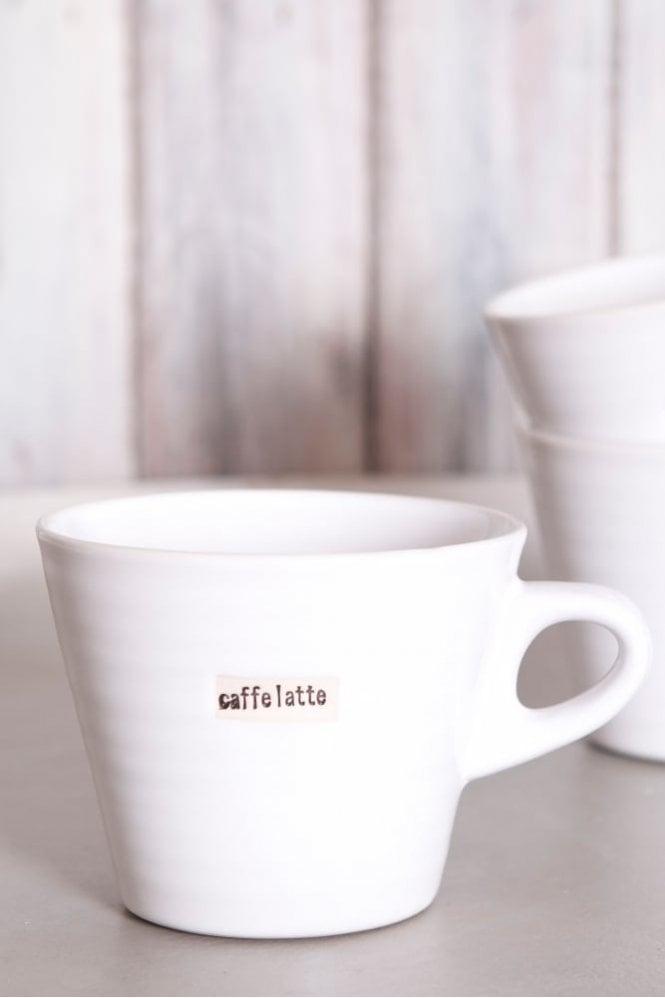 Broste Copenhagen White Mug – Caffe Latte