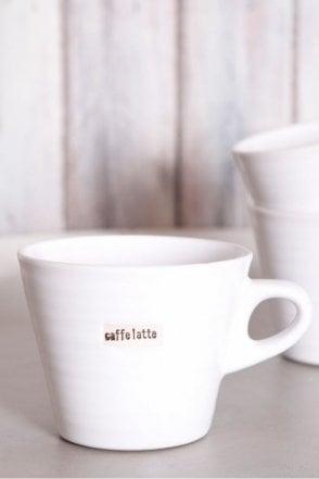 White Mug – Caffe Latte