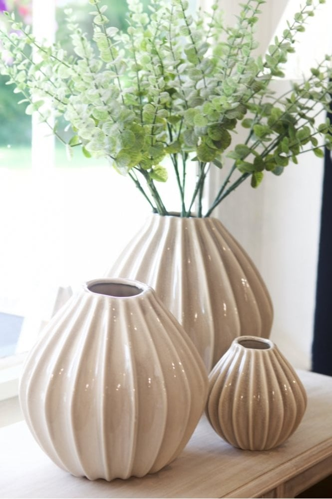 Broste Copenhagen Wide Vase Medium