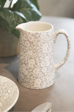 Dove Grey Calico Jug