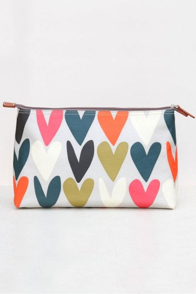 Caroline Gardner Hearts Wash Bag