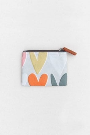 Layered Hearts Coin Purse
