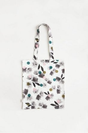 Rose Tinted Canvas Tote Bag