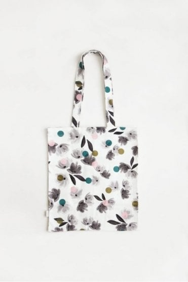 Rose Tinted Canvas Tote Bag