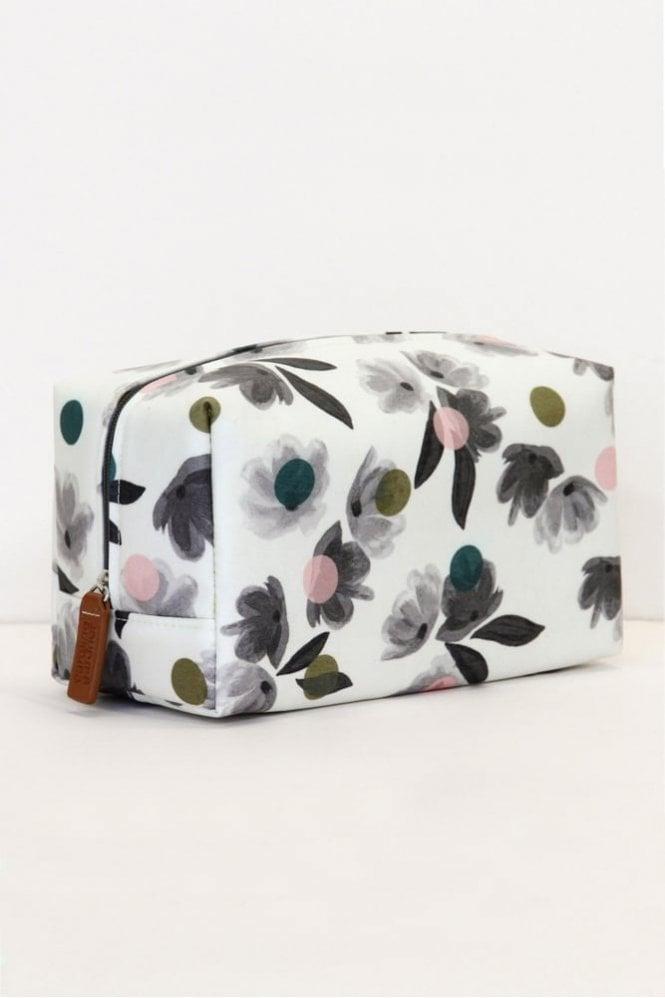 Caroline Gardner Rose Tinted Cube Wash Bag