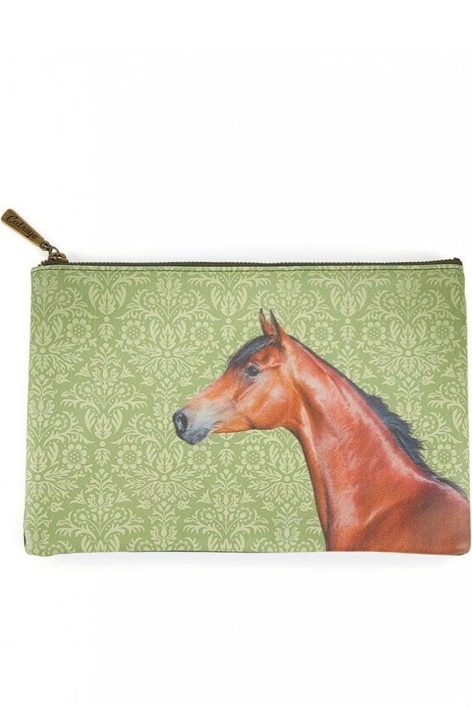 Catseye Horse Large Flat Bag