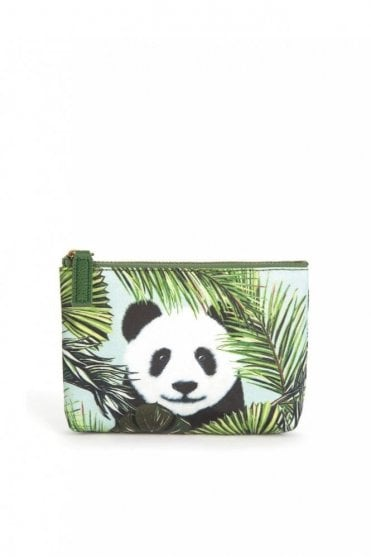 Panda in Palms Pouch