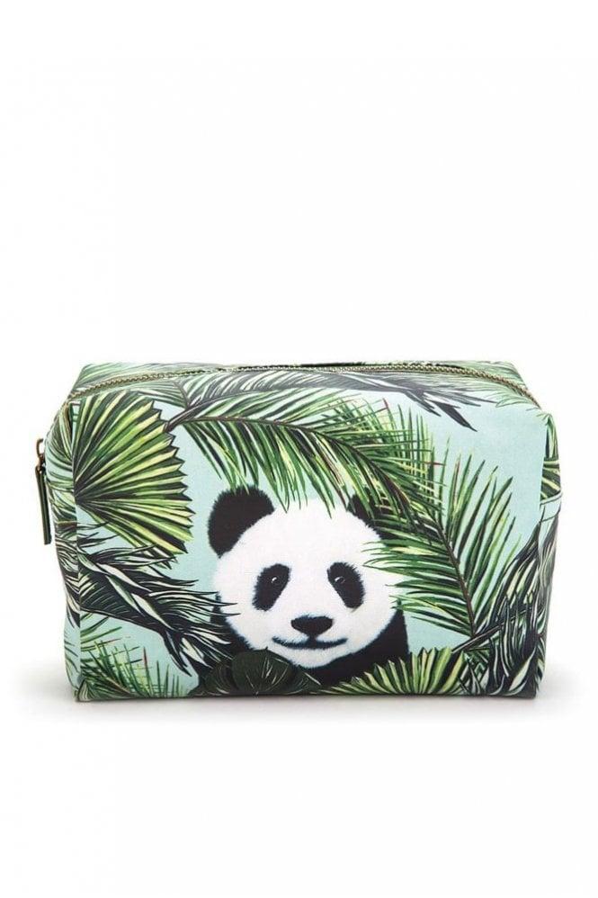 Catseye Panda in Palms Wash Bag