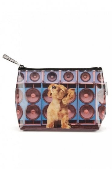 Speaker Dog Make Up Bag