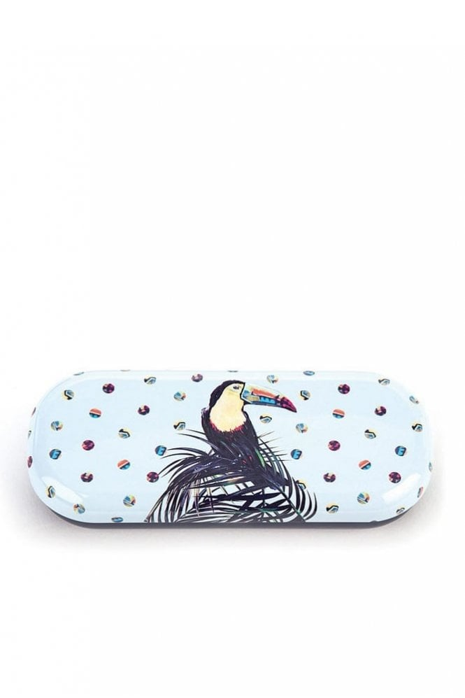 Catseye Toucan Glasses Case