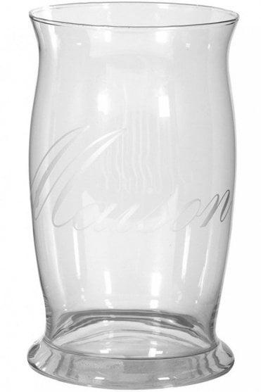 Large Glass 'Maison' Vase