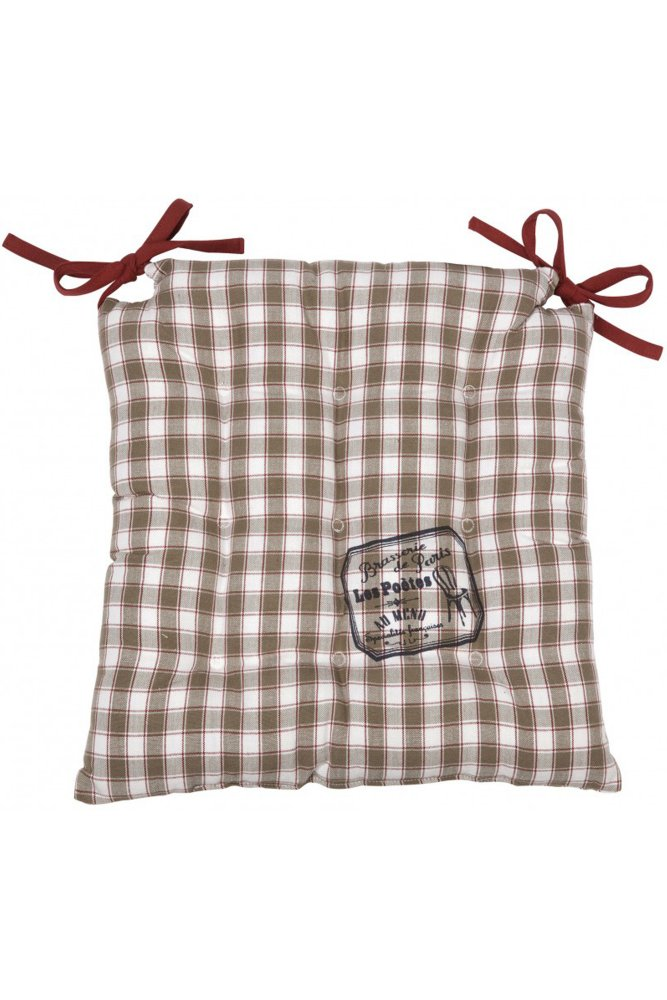 comptoir de famille brasserie des poetes seat pad sue. Black Bedroom Furniture Sets. Home Design Ideas