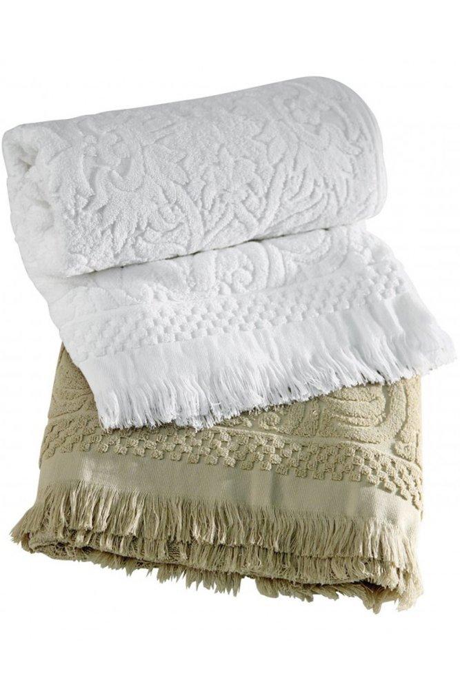 comptoir de famille daphne bath towel sue. Black Bedroom Furniture Sets. Home Design Ideas