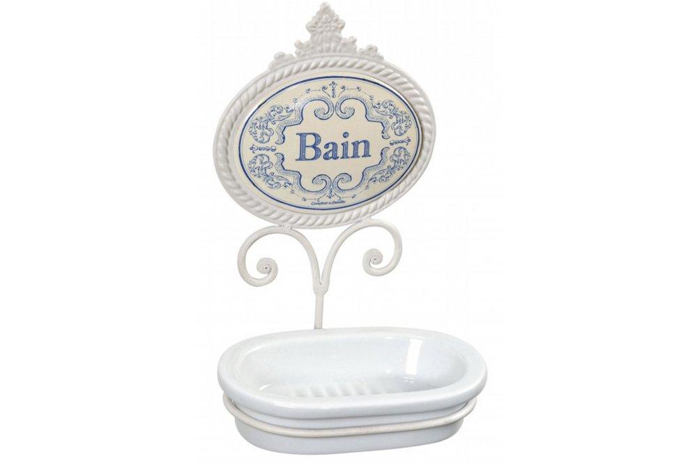 Comptoir de famille delft wall mounted soap dish sue for Comptoir de famille decoration