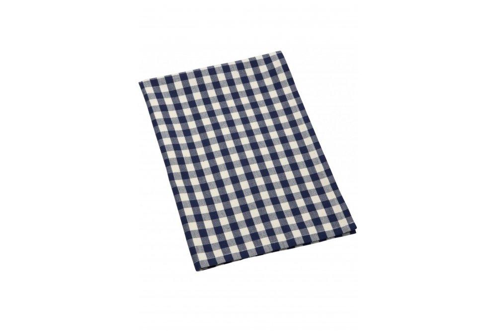 comptoir de famille indigo set of 3 tea towels sue. Black Bedroom Furniture Sets. Home Design Ideas