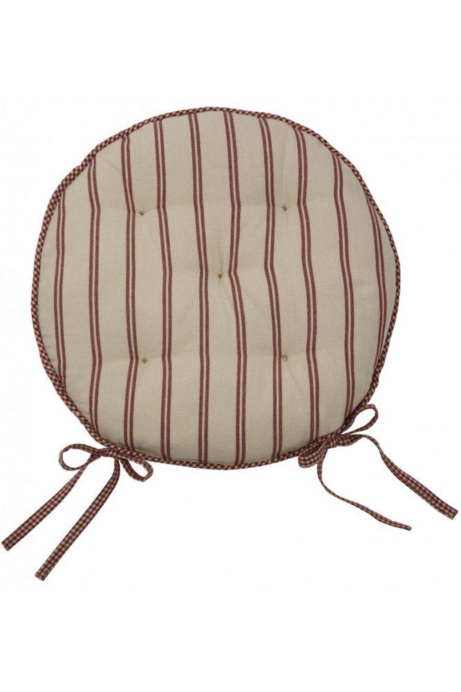 comptoir de famille la compagne round seat pad sue. Black Bedroom Furniture Sets. Home Design Ideas