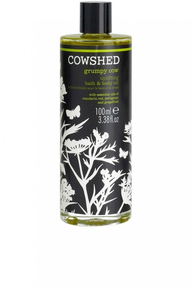 Cowshed Grumpy Cow Uplifting Bath and Body Oil 100ml