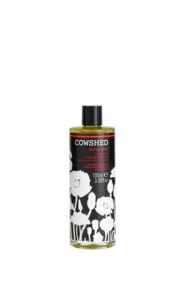 Horny Cow Seductive Bath & Massage Oil - 100ml