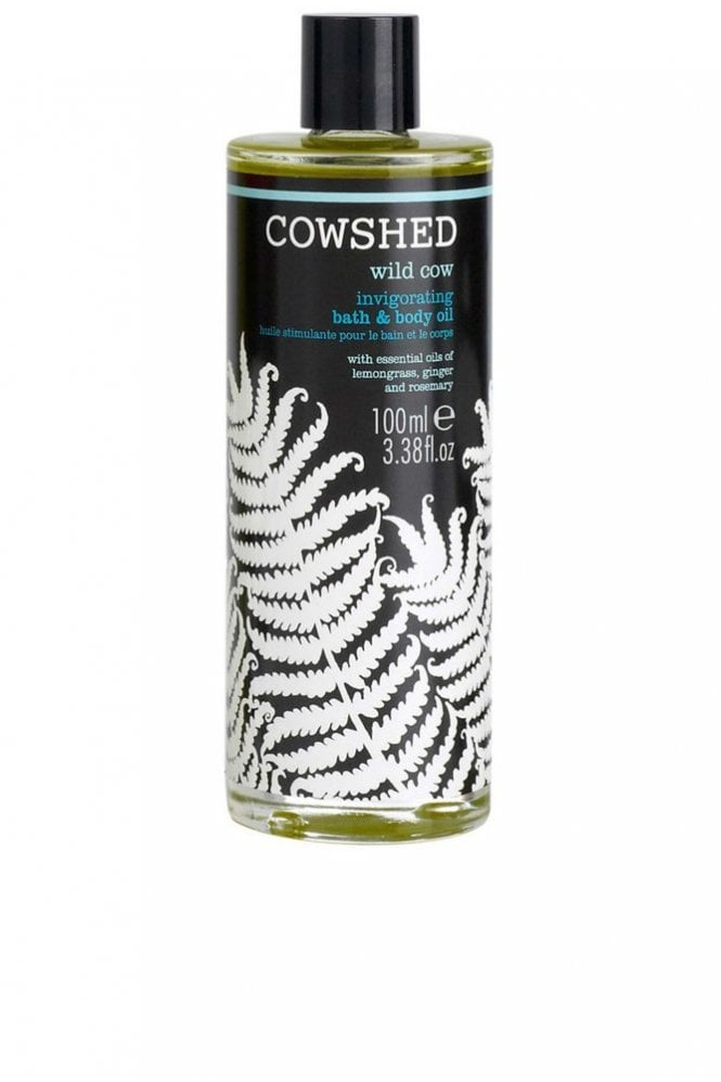 Cowshed Wild Cow Invigorating Bath and Body Oil 100ml