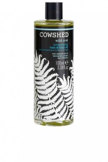 Wild Cow Invigorating Bath and Body Oil 100ml