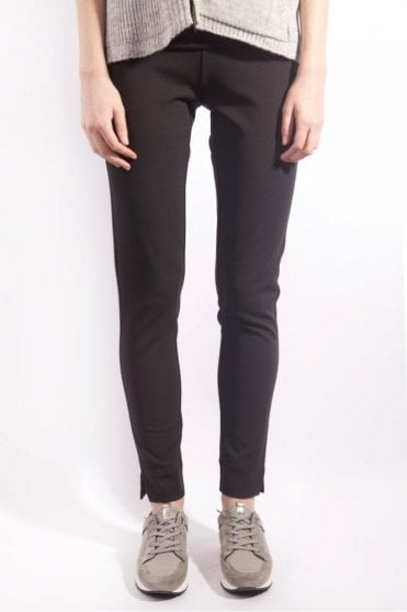 Pull On Trouser in Black