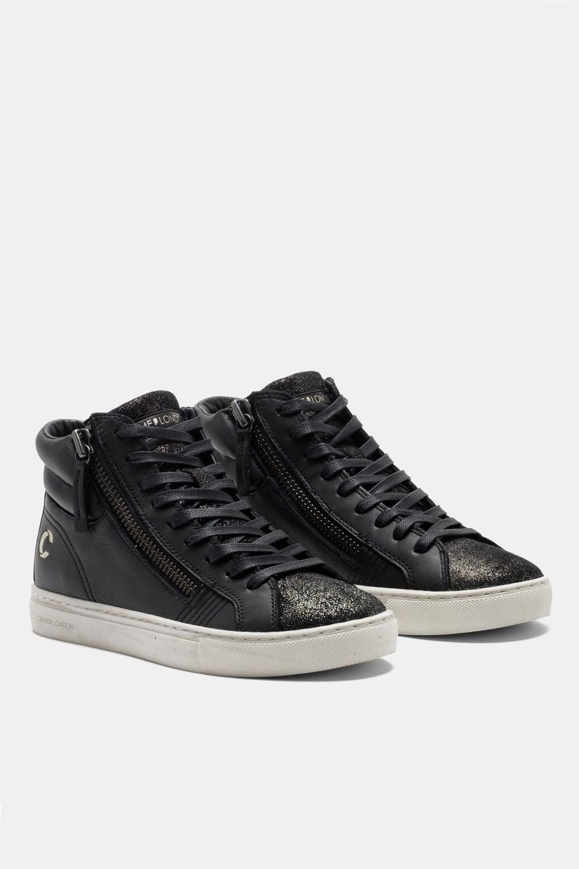 crime london high top sneakers