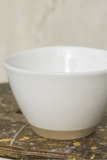 Rice Bowl in Dipped White