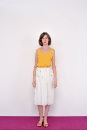 Eglae Skirt in Ecru