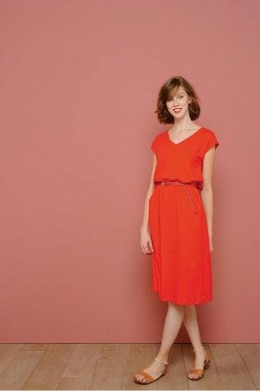 Ilomi Dress in Red
