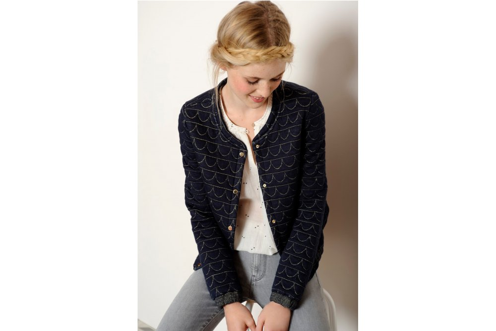 des petits hauts navy holga jacket at sue parkinson. Black Bedroom Furniture Sets. Home Design Ideas