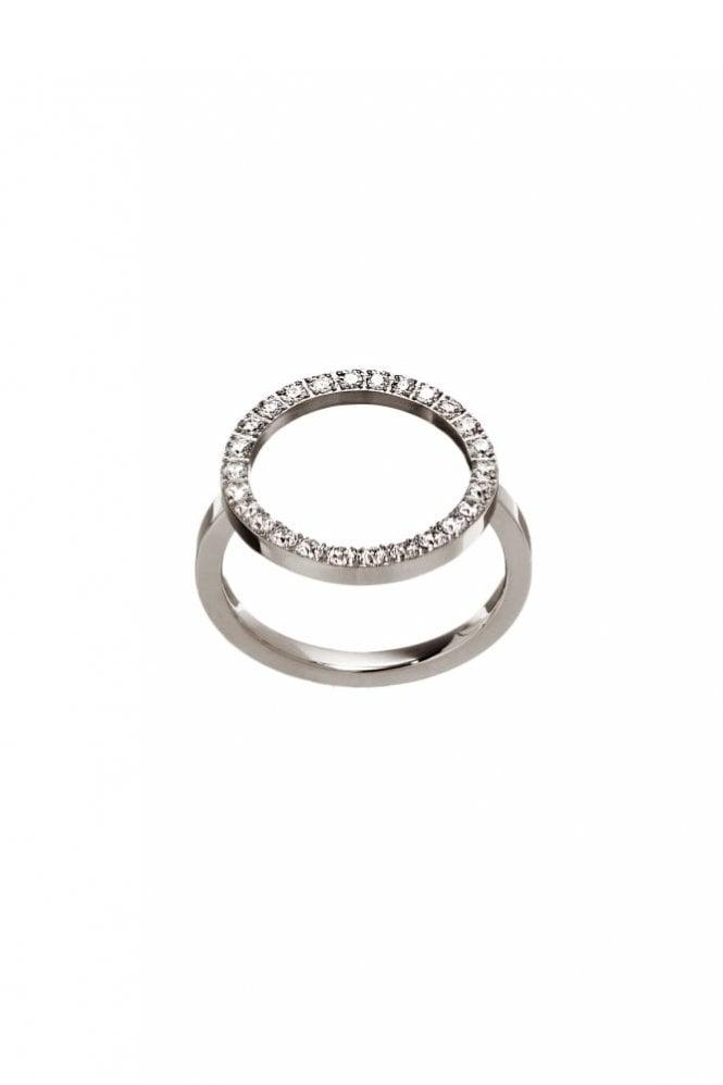 EDBLAD Glow Front Medium Ring in Steel