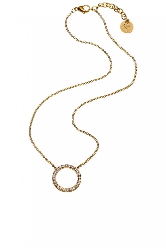 EDBLAD Glow Short Necklace in Matt Gold