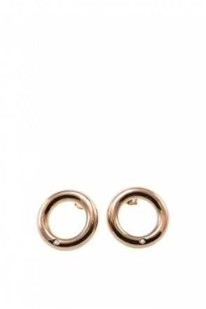 Marie Studs Large Rose Gold