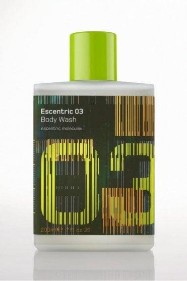 Escentric 03 Body Wash (200ml)