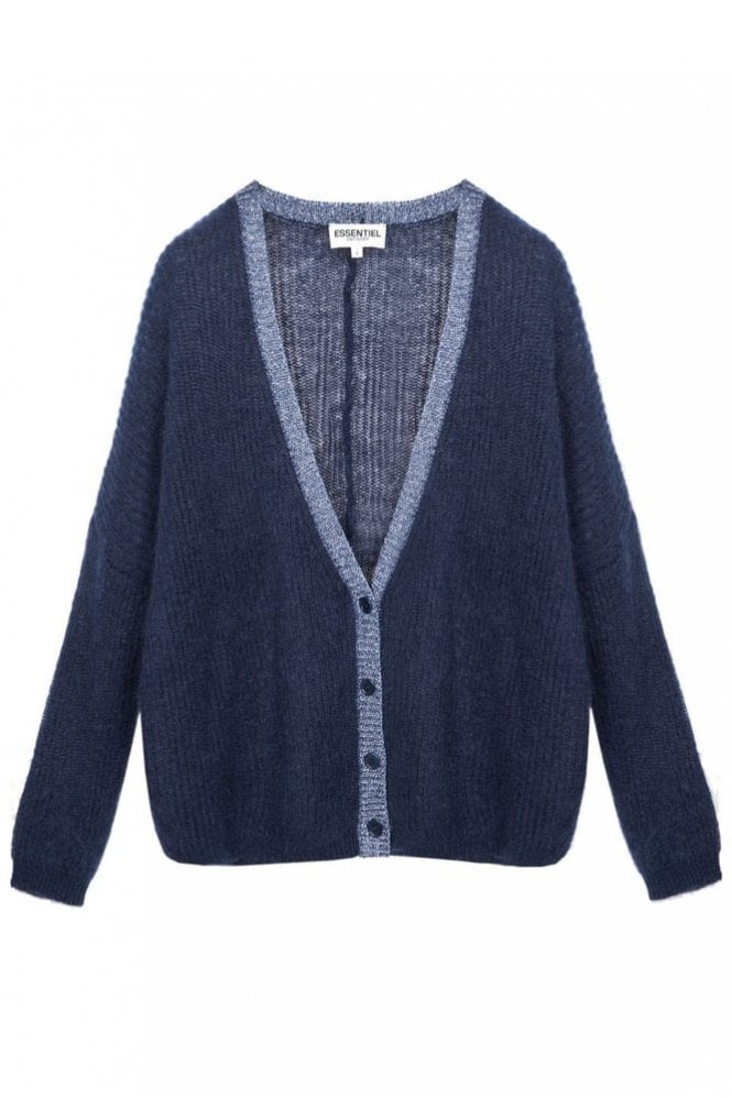 Essentiel Lurex Finish Cardigan