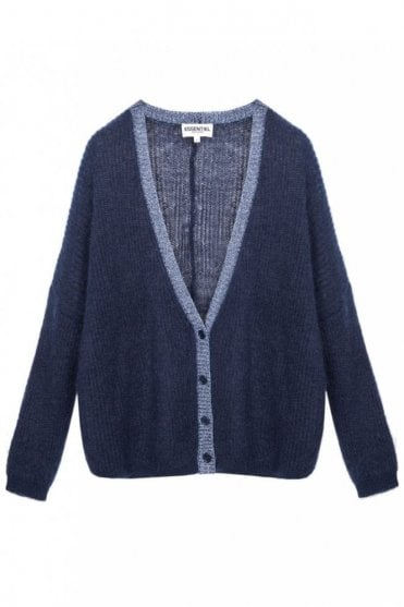 Lurex Finish Cardigan